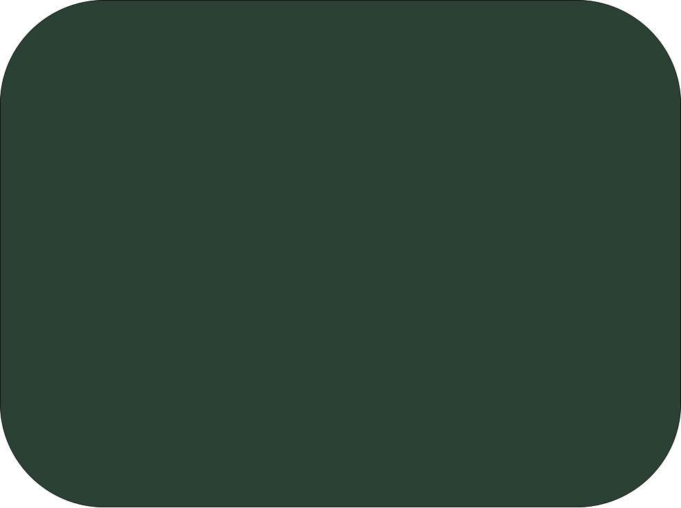 Dark Green Fondant Color Powder